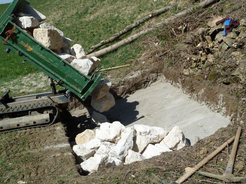 Bau Reptilienburg