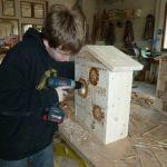 Bau Wildbienenhotel